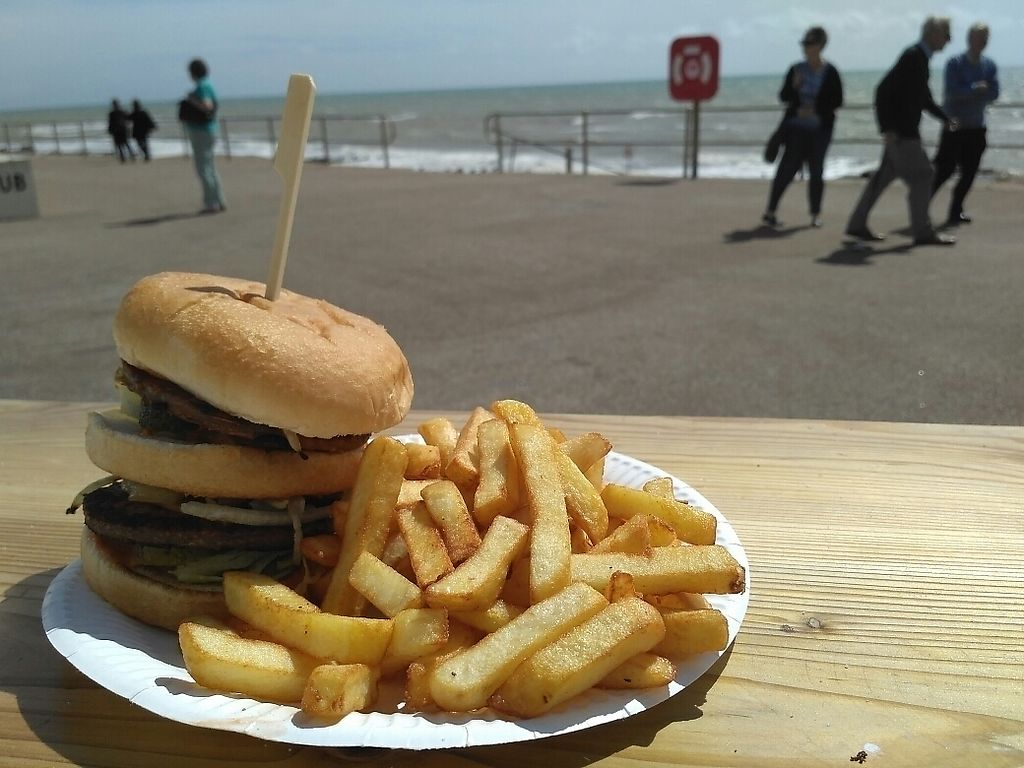 "Photo of CLOSED: Patty&Franks  by <a href=""/members/profile/Miggi"">Miggi</a> <br/>Enjoying a Big Wac by the sea <br/> August 18, 2017  - <a href='/contact/abuse/image/79168/293969'>Report</a>"