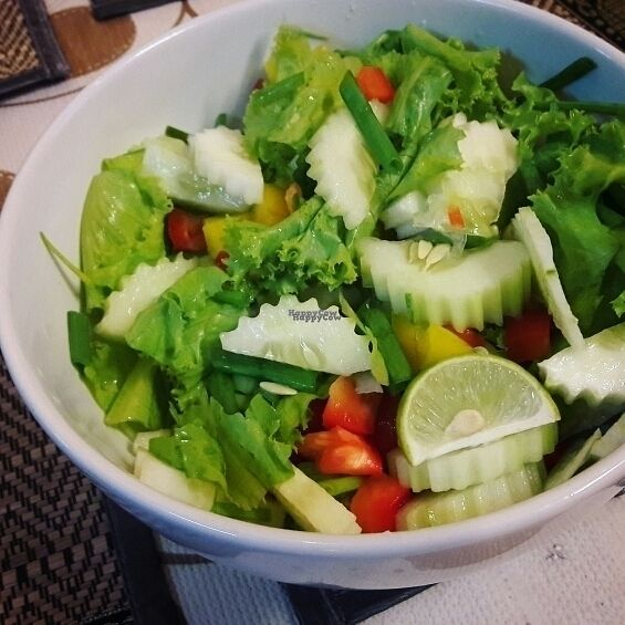 """Photo of CLOSED: D.D Samui Vegan Restaurant  by <a href=""""/members/profile/Olesya"""">Olesya</a> <br/>salad ? <br/> September 6, 2016  - <a href='/contact/abuse/image/79203/173958'>Report</a>"""