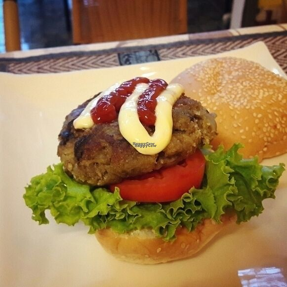 """Photo of CLOSED: D.D Samui Vegan Restaurant  by <a href=""""/members/profile/Olesya"""">Olesya</a> <br/>veggie burger? <br/> September 22, 2016  - <a href='/contact/abuse/image/79203/177300'>Report</a>"""