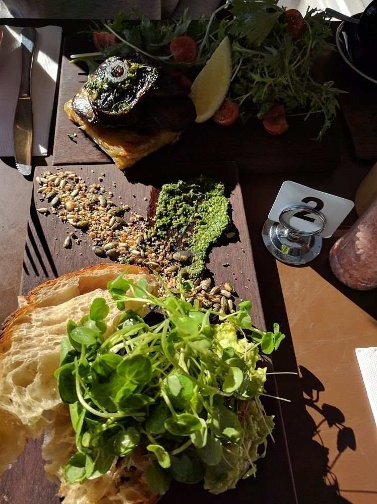 """Photo of The Patch  by <a href=""""/members/profile/VeganSoapDude"""">VeganSoapDude</a> <br/>Great food  <br/> September 5, 2016  - <a href='/contact/abuse/image/79224/173836'>Report</a>"""