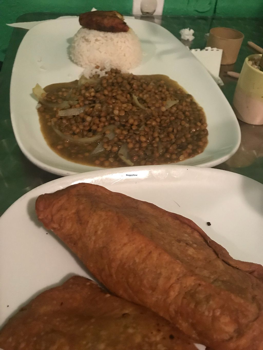 """Photo of Yardie Spice  by <a href=""""/members/profile/CaraMia"""">CaraMia</a> <br/>Empanadas and curry lentil <br/> November 12, 2017  - <a href='/contact/abuse/image/79274/324494'>Report</a>"""