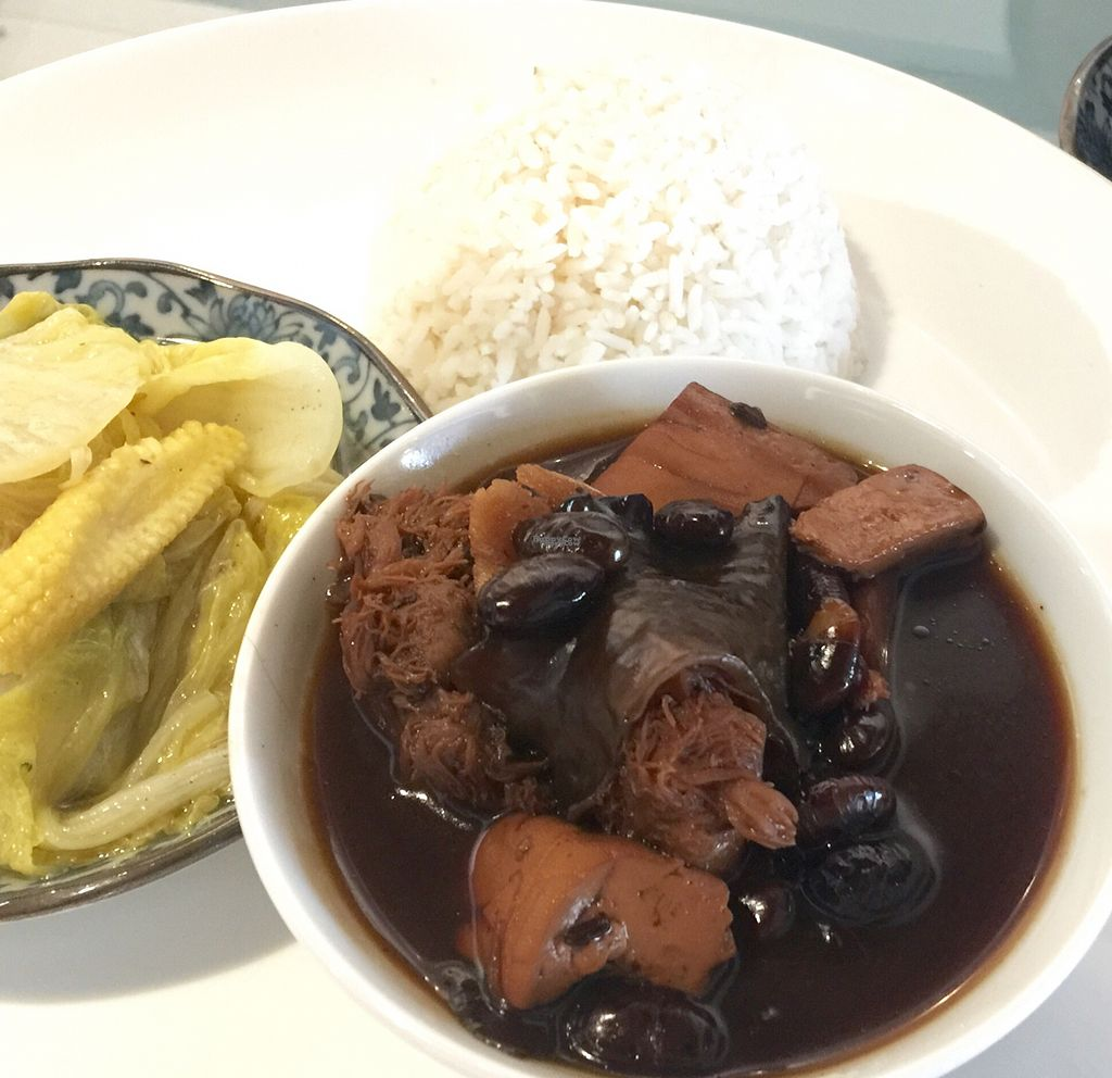 """Photo of Mori Vegetarian Tea House  by <a href=""""/members/profile/Brian%20Ash"""">Brian Ash</a> <br/>braised vinegar pork <br/> September 14, 2016  - <a href='/contact/abuse/image/79276/175526'>Report</a>"""