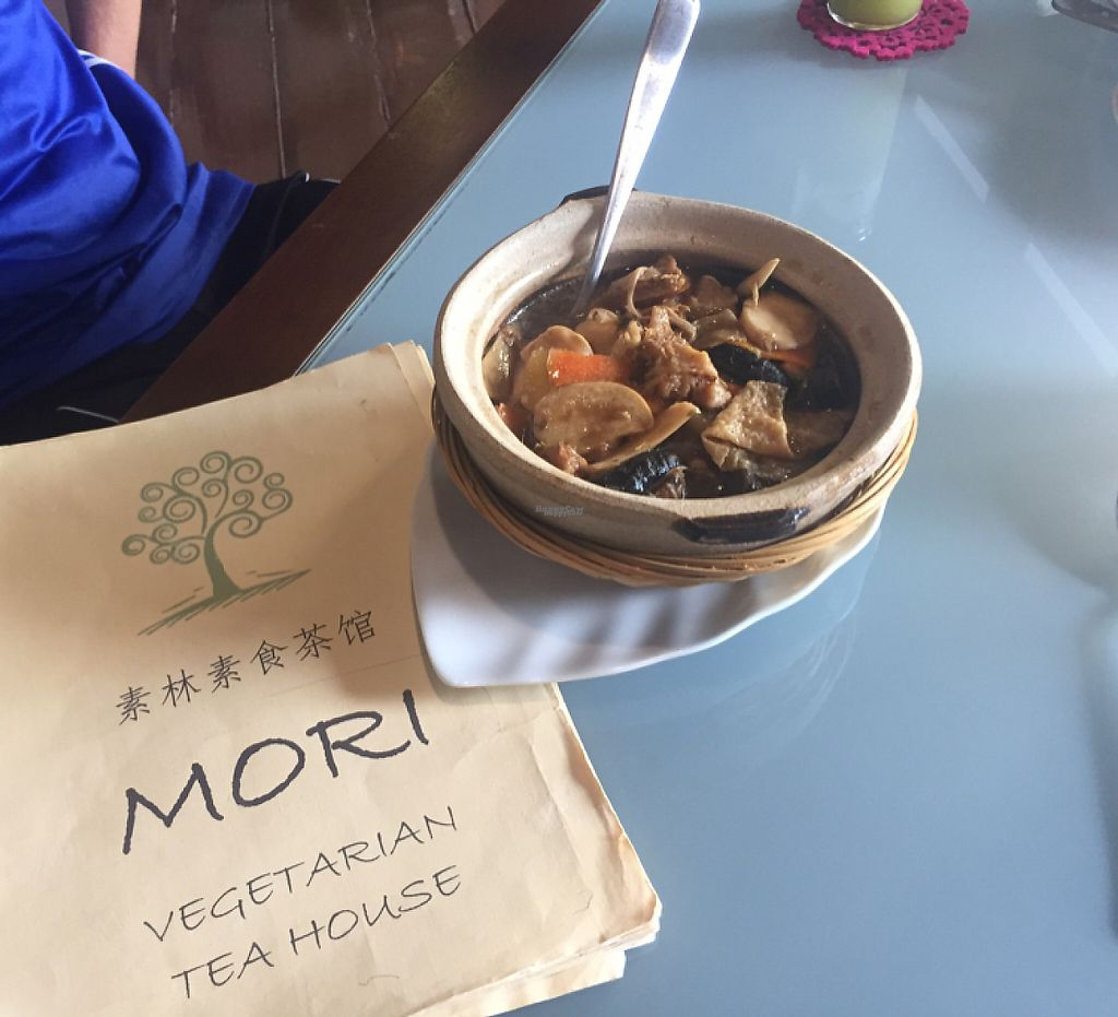 """Photo of Mori Vegetarian Tea House  by <a href=""""/members/profile/jozborn"""">jozborn</a> <br/>vegetable clay pot <br/> January 18, 2017  - <a href='/contact/abuse/image/79276/212996'>Report</a>"""