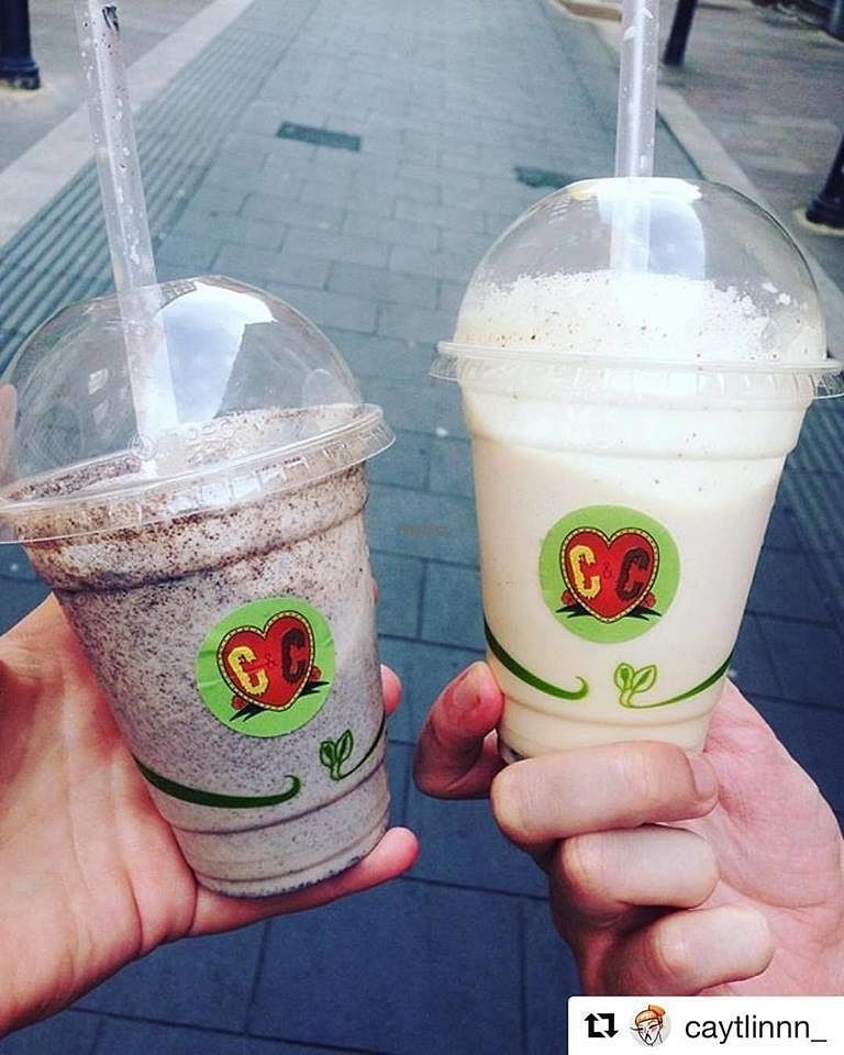 """Photo of CLOSED: Cheese & Chocolate  by <a href=""""/members/profile/charclothier"""">charclothier</a> <br/>Cheese and  Chocolate Vegan Milkshakes <br/> September 8, 2016  - <a href='/contact/abuse/image/79283/174442'>Report</a>"""