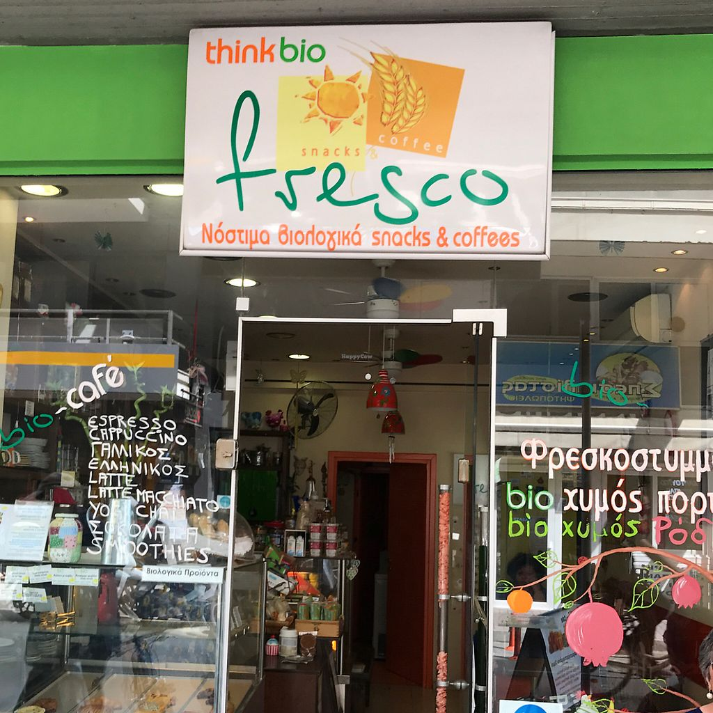 "Photo of Fresco Bio Cafe  by <a href=""/members/profile/earthville"">earthville</a> <br/>storefront <br/> May 15, 2017  - <a href='/contact/abuse/image/79286/259076'>Report</a>"