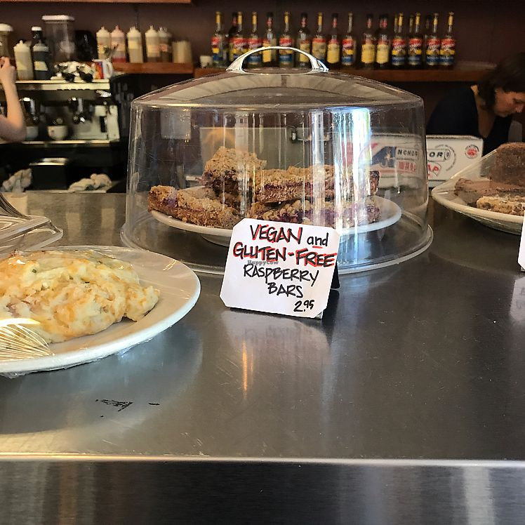 "Photo of Cafe Creme  by <a href=""/members/profile/Sarah%20P"">Sarah P</a> <br/>the one vegan option 6.10.17 <br/> June 10, 2017  - <a href='/contact/abuse/image/79297/267857'>Report</a>"