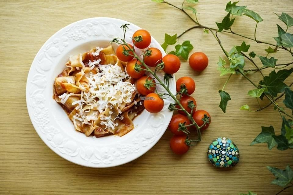 "Photo of In Pasta  by <a href=""/members/profile/Valentina21"">Valentina21</a> <br/>Tomatoes pappardelle <br/> September 2, 2016  - <a href='/contact/abuse/image/79384/173021'>Report</a>"