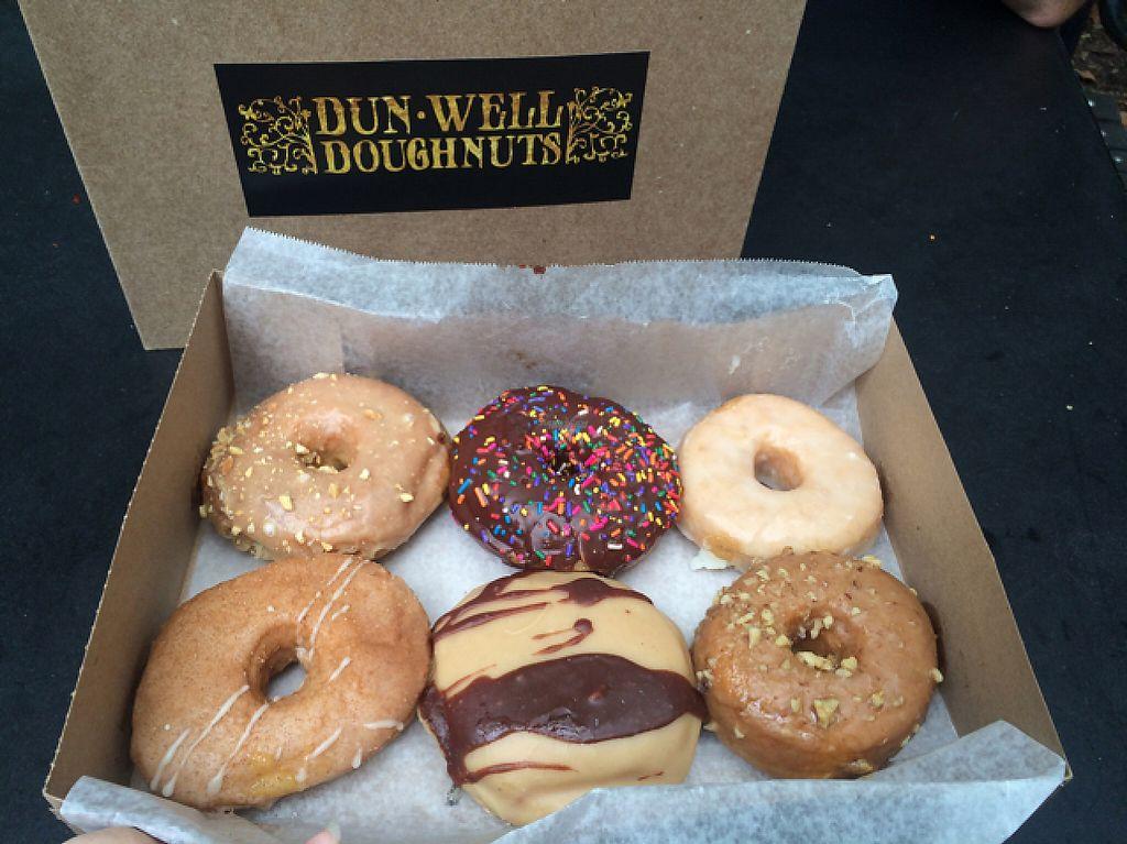"Photo of Dun-Well Doughnuts  by <a href=""/members/profile/Helloimerinxo"">Helloimerinxo</a> <br/>very delicious  <br/> December 28, 2016  - <a href='/contact/abuse/image/79385/205739'>Report</a>"