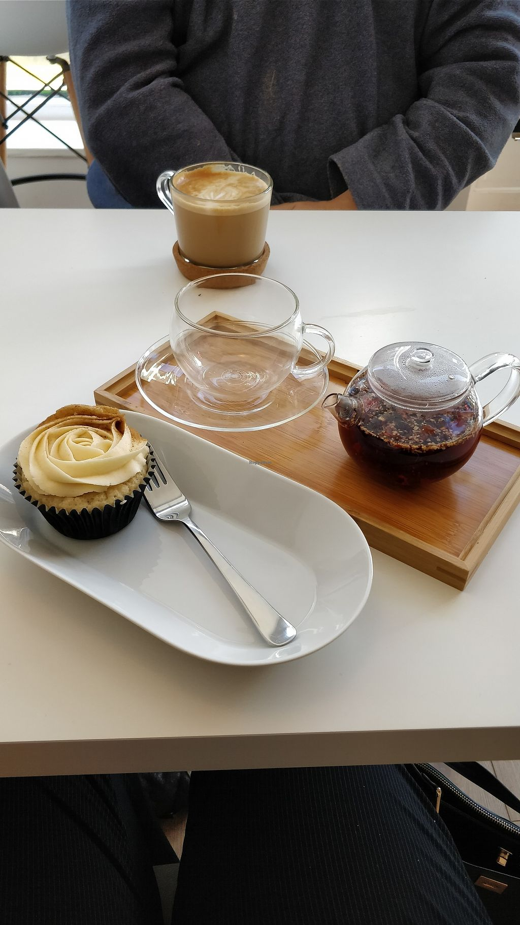 "Photo of Blanche Bakery  by <a href=""/members/profile/isabeloola"">isabeloola</a> <br/>Chai latte cupcakes and berry hibiscus tea <br/> January 5, 2018  - <a href='/contact/abuse/image/79393/343212'>Report</a>"