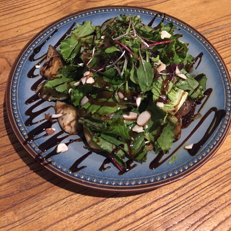 """Photo of Slunch Factory - 슬런치 팩토리  by <a href=""""/members/profile/LinnDaugherty"""">LinnDaugherty</a> <br/>eggplant salad - really good  <br/> October 10, 2016  - <a href='/contact/abuse/image/79405/181048'>Report</a>"""
