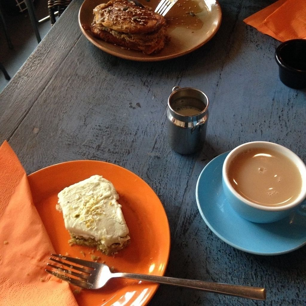 "Photo of CLOSED: Coffee Punks  by <a href=""/members/profile/charclothier"">charclothier</a> <br/>Matcha vegan and vegan pancakes  <br/> September 3, 2016  - <a href='/contact/abuse/image/79413/173240'>Report</a>"