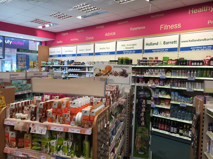 """Photo of Holland and Barrett - Dalton Park  by <a href=""""/members/profile/hack_man"""">hack_man</a> <br/>inside  <br/> September 25, 2016  - <a href='/contact/abuse/image/79414/177859'>Report</a>"""