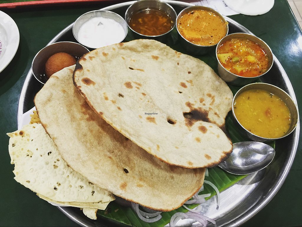 """Photo of Ananda Bhavan - Serangoon Rd  by <a href=""""/members/profile/YiWei"""">YiWei</a> <br/>special Thali rice set - very big portions  <br/> June 12, 2017  - <a href='/contact/abuse/image/79427/268359'>Report</a>"""