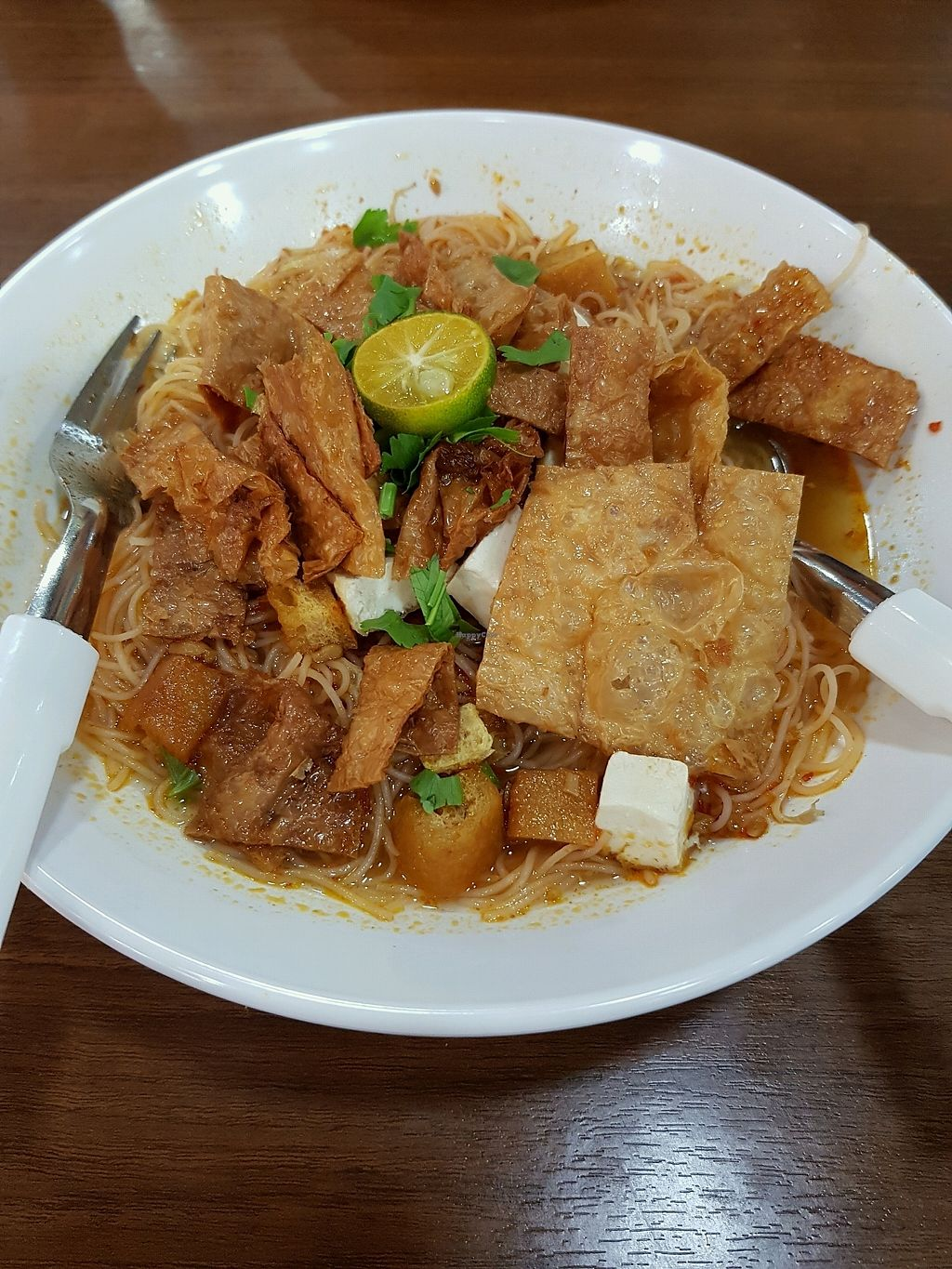 "Photo of Uncle Black Vegetarian Food  by <a href=""/members/profile/ChuaChenKok"">ChuaChenKok</a> <br/>Mee Siam <br/> January 1, 2018  - <a href='/contact/abuse/image/79429/341504'>Report</a>"