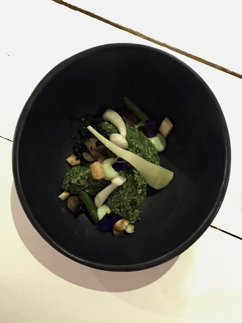 "Photo of Bij Albrecht  by <a href=""/members/profile/nitahannele"">nitahannele</a> <br/>2nd course - spinach quinoa with mushrooms <br/> January 18, 2018  - <a href='/contact/abuse/image/79441/347921'>Report</a>"