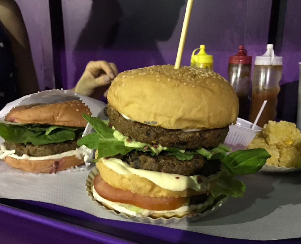 """Photo of Novos Veganos  by <a href=""""/members/profile/Paolla"""">Paolla</a> <br/>Vegan burgers :D <br/> April 4, 2017  - <a href='/contact/abuse/image/79445/244747'>Report</a>"""