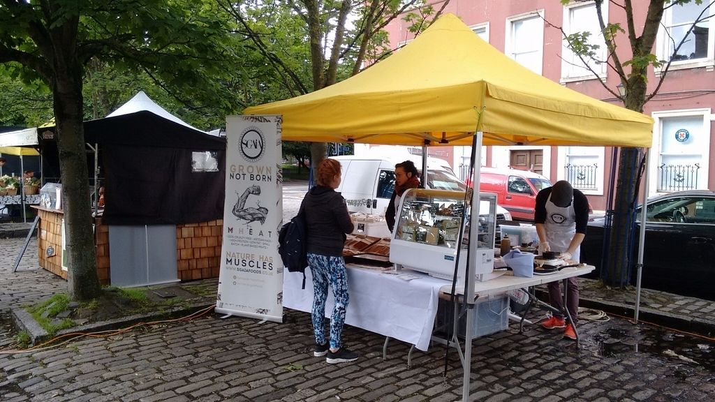 """Photo of Sgaia's Vegan Mheat  by <a href=""""/members/profile/craigmc"""">craigmc</a> <br/>The vegan quarter at Leith <br/> August 31, 2016  - <a href='/contact/abuse/image/79454/172597'>Report</a>"""