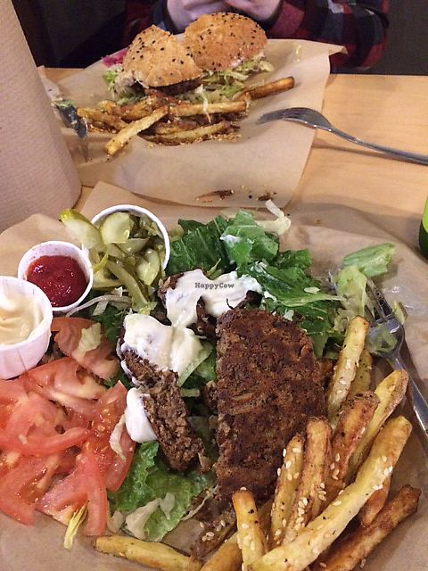 "Photo of Boon Burger Cafe  by <a href=""/members/profile/MamaSinkins"">MamaSinkins</a> <br/>Boon patty on lettuce with Joe fixings  <br/> January 15, 2018  - <a href='/contact/abuse/image/79455/346782'>Report</a>"