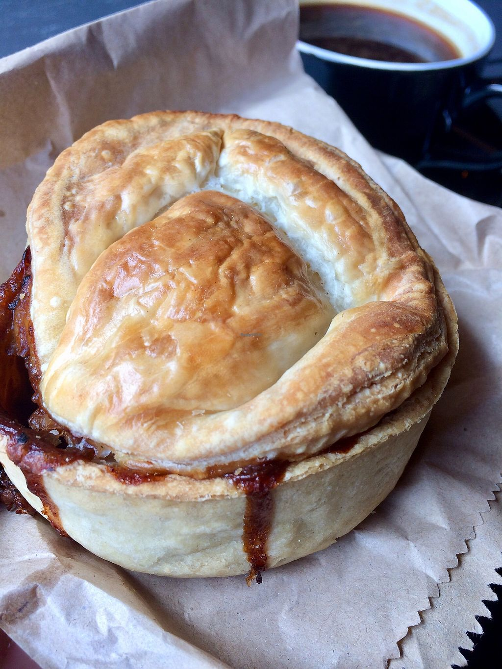 """Photo of Cool Jerk Vegan Pies  by <a href=""""/members/profile/CiaraSlevin"""">CiaraSlevin</a> <br/>Scrumptious vegan pie <br/> April 10, 2018  - <a href='/contact/abuse/image/79460/383503'>Report</a>"""