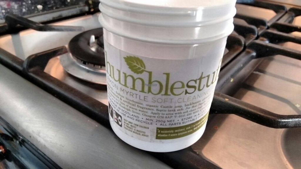 """Photo of Humblestuff  by <a href=""""/members/profile/craigmc"""">craigmc</a> <br/>ethical and vegan cleaner  <br/> November 6, 2016  - <a href='/contact/abuse/image/79461/186902'>Report</a>"""