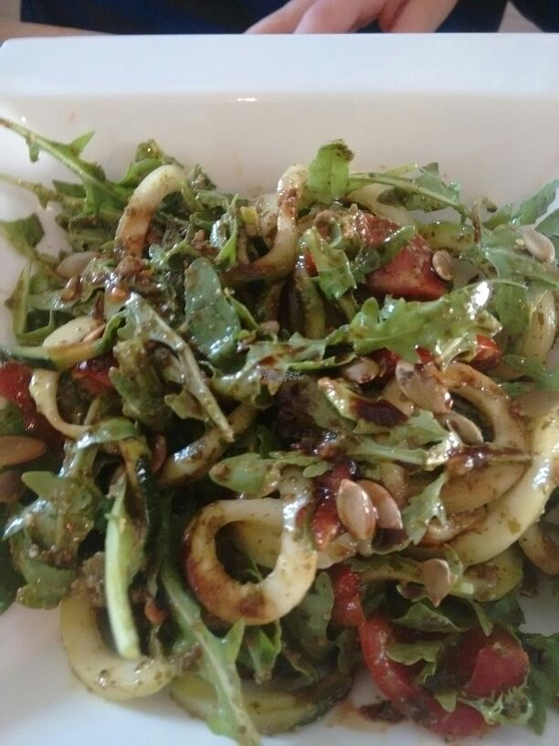"""Photo of CLOSED: Simply Nood  by <a href=""""/members/profile/craigmc"""">craigmc</a> <br/>courgette spaghetti and fresh.pesto <br/> September 19, 2016  - <a href='/contact/abuse/image/79463/176802'>Report</a>"""