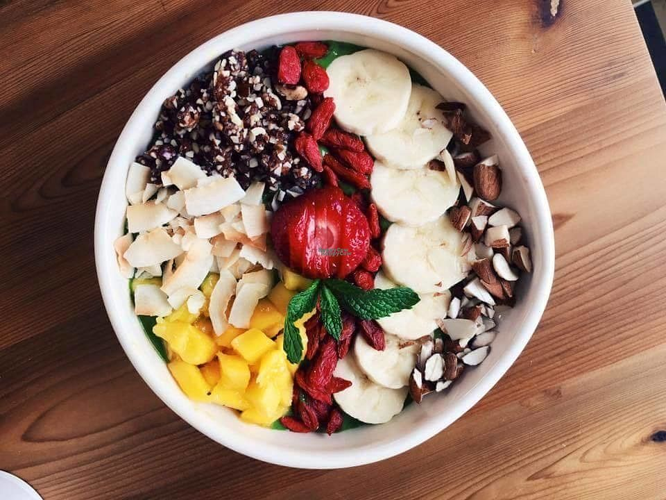 "Photo of Espace Vita  by <a href=""/members/profile/EspaceVita"">EspaceVita</a> <br/>Smoothie bowl <br/> August 31, 2016  - <a href='/contact/abuse/image/79464/172689'>Report</a>"