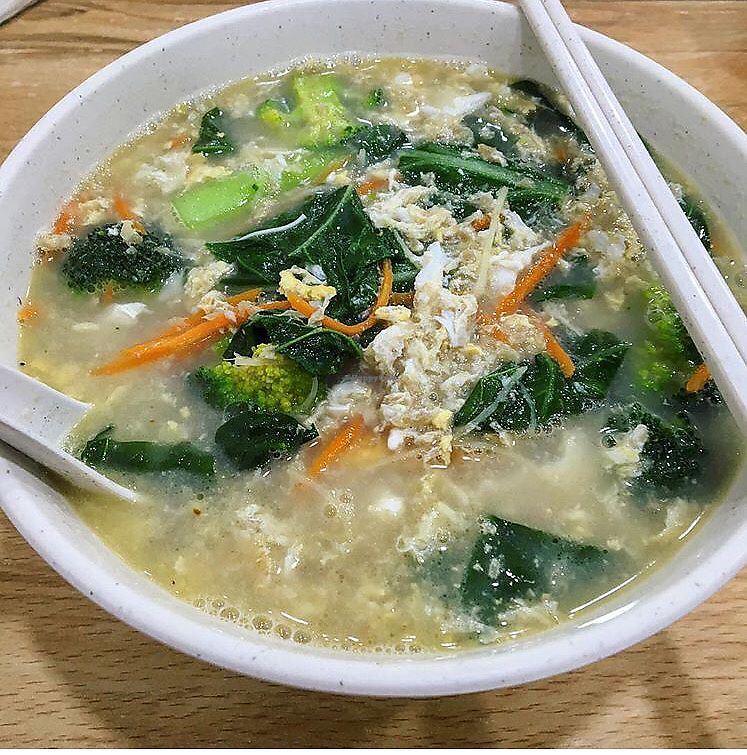 """Photo of SHU Vegetarian  by <a href=""""/members/profile/breakfastparadise"""">breakfastparadise</a> <br/>Ginger mee sua <br/> March 24, 2018  - <a href='/contact/abuse/image/79478/375160'>Report</a>"""
