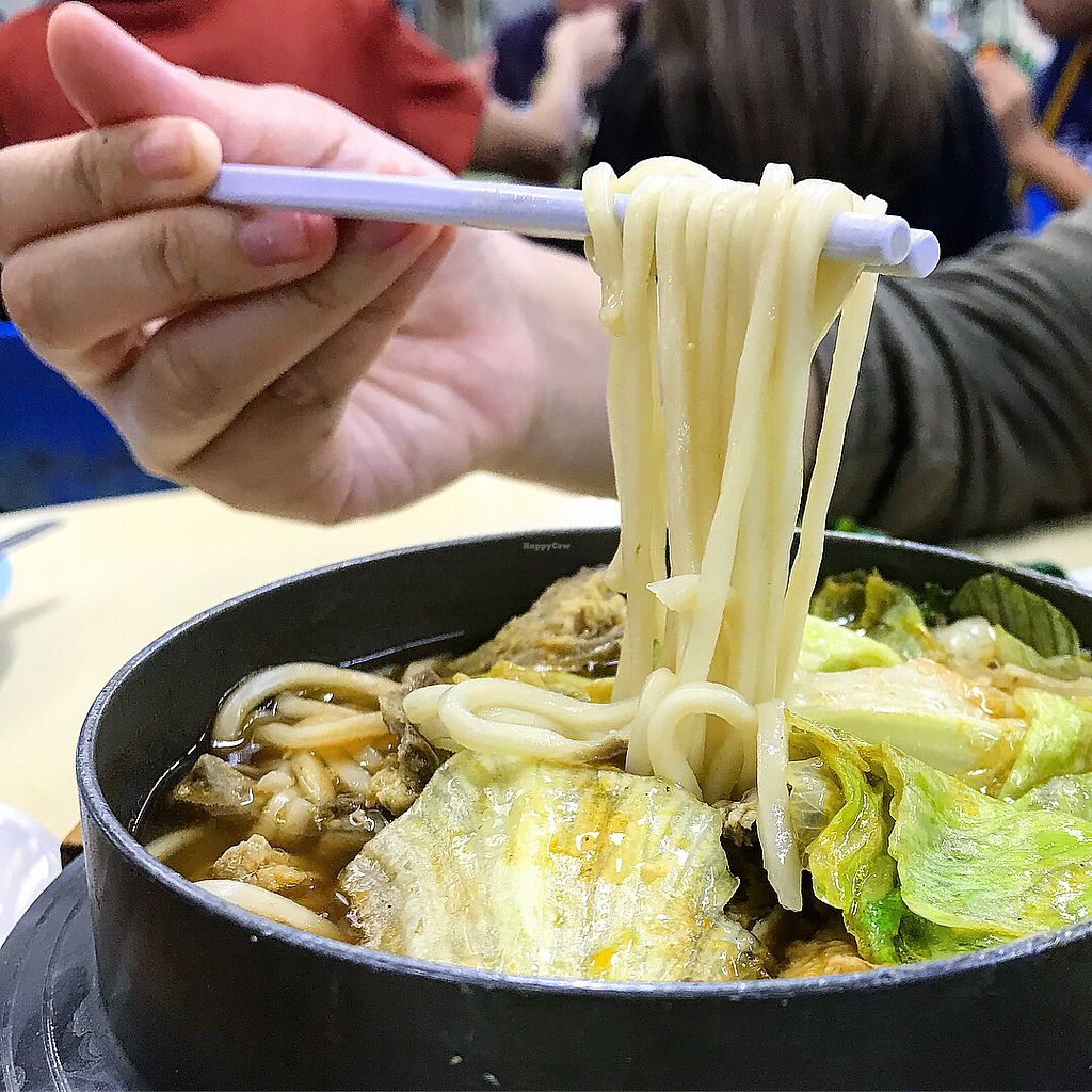 """Photo of Green Lane Vegetarian Food  by <a href=""""/members/profile/Sweetveganneko"""">Sweetveganneko</a> <br/>Claypot noodles  <br/> February 8, 2018  - <a href='/contact/abuse/image/79480/356335'>Report</a>"""