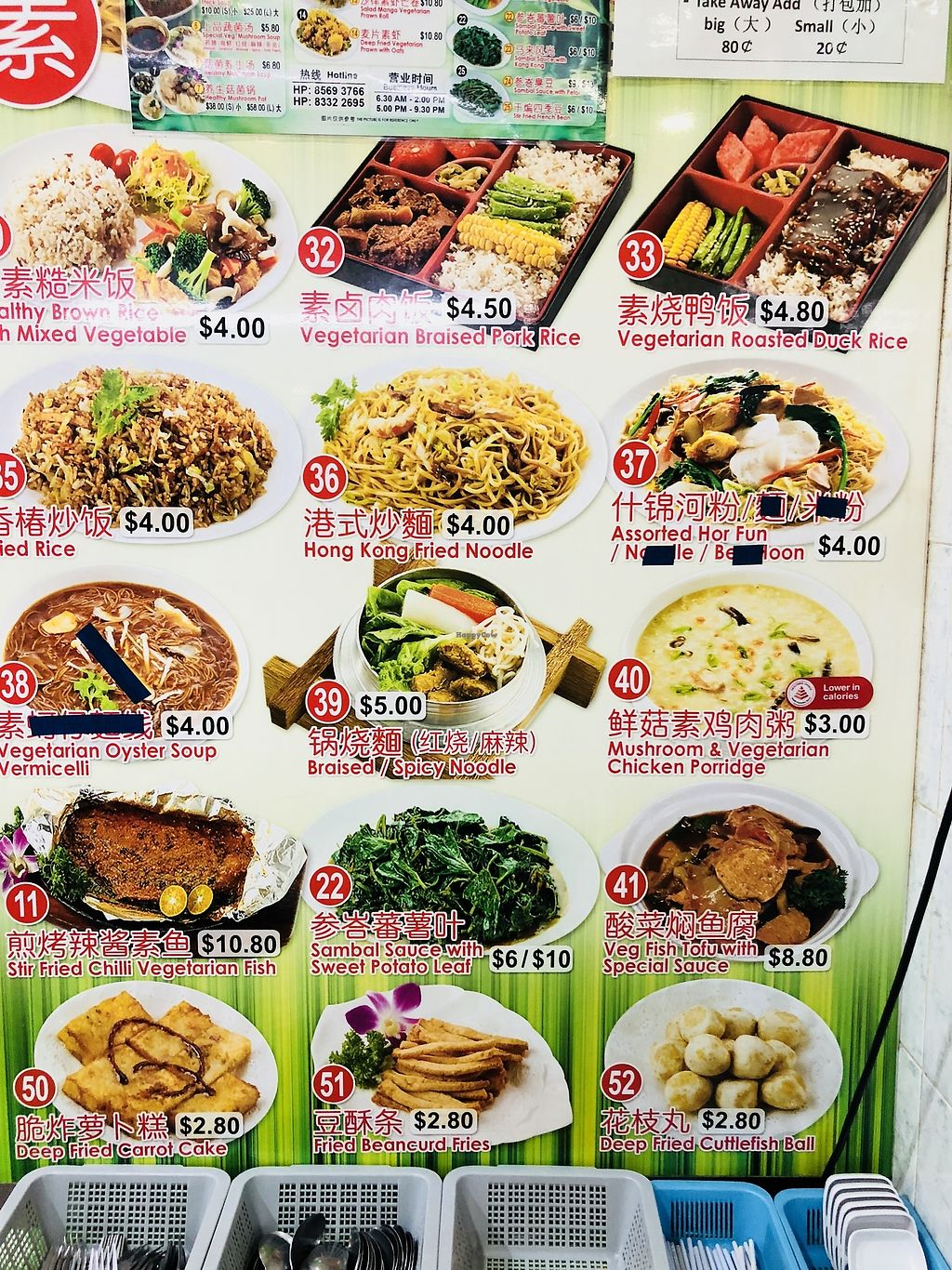 """Photo of Green Lane Vegetarian Food  by <a href=""""/members/profile/CherylQuincy"""">CherylQuincy</a> <br/>Menu board <br/> February 9, 2018  - <a href='/contact/abuse/image/79480/356912'>Report</a>"""