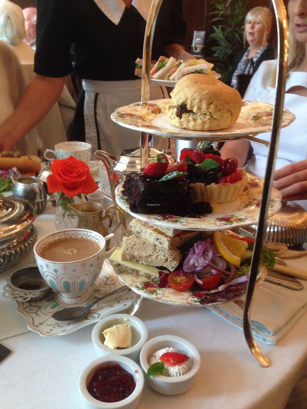 "Photo of The Westminster Tea Rooms   by <a href=""/members/profile/Toniab"">Toniab</a> <br/>vegan cream tea  <br/> June 30, 2017  - <a href='/contact/abuse/image/79483/275115'>Report</a>"