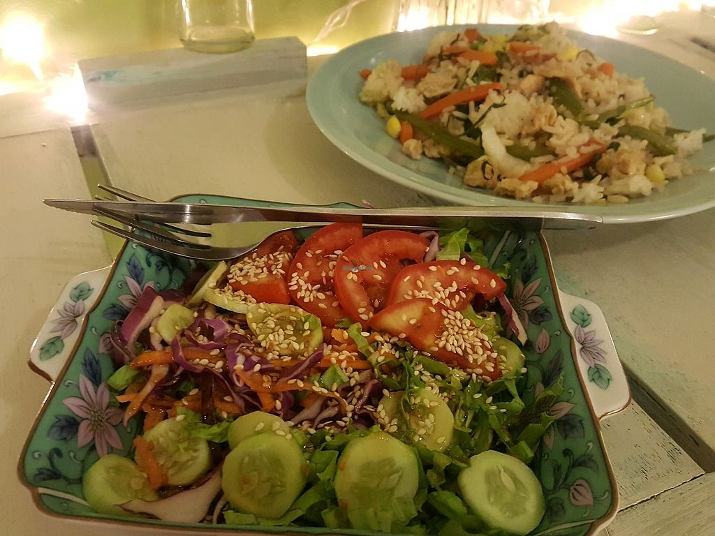 """Photo of Govinda's Restaurant  by <a href=""""/members/profile/Carolineof"""">Carolineof</a> <br/>rice with vegetables <br/> December 28, 2017  - <a href='/contact/abuse/image/79507/339757'>Report</a>"""