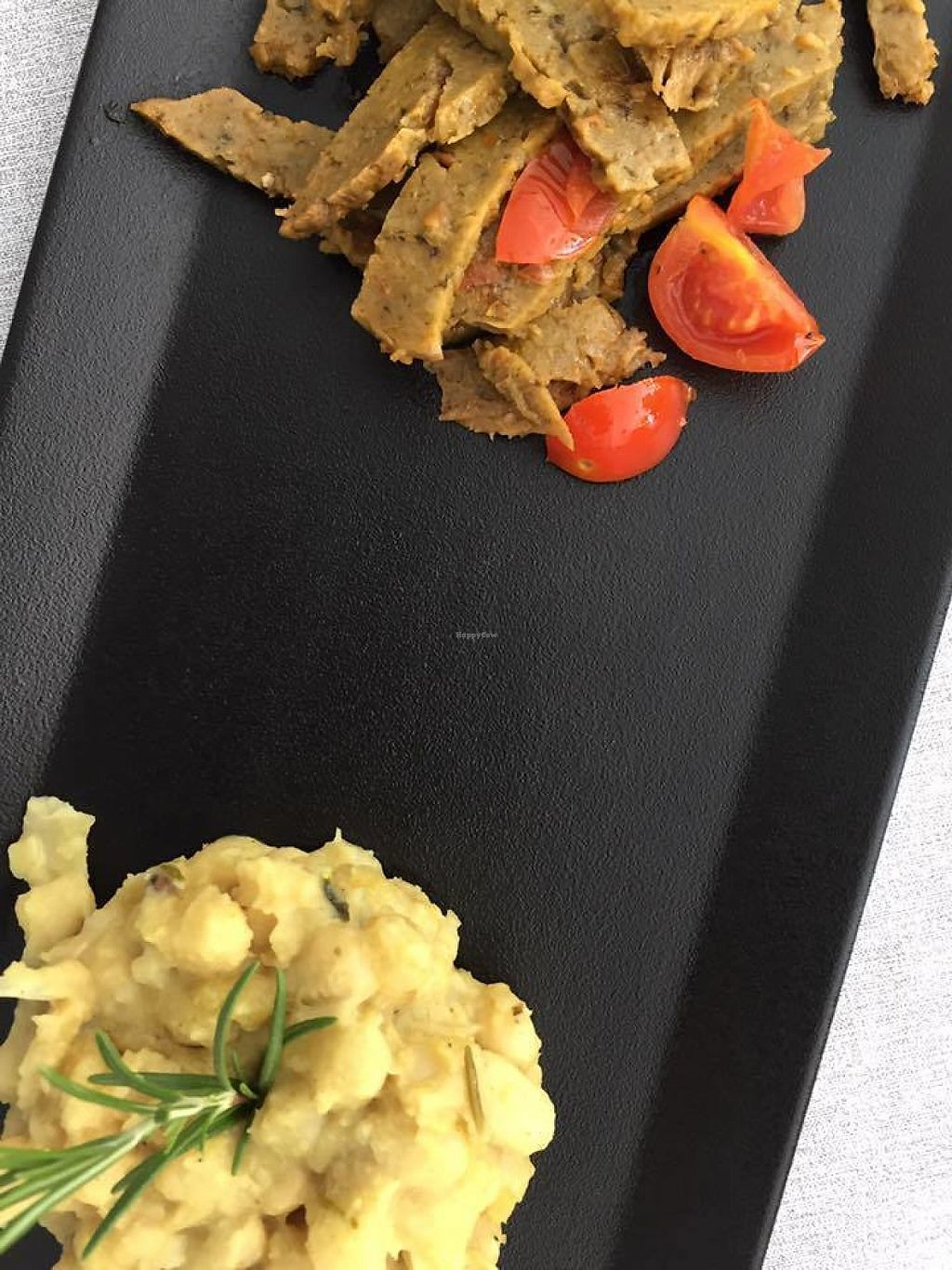 """Photo of Bianco Rosso & Verdure  by <a href=""""/members/profile/LucieS"""">LucieS</a> <br/>Seitan and curried beans, delicious <br/> May 28, 2017  - <a href='/contact/abuse/image/79509/263319'>Report</a>"""