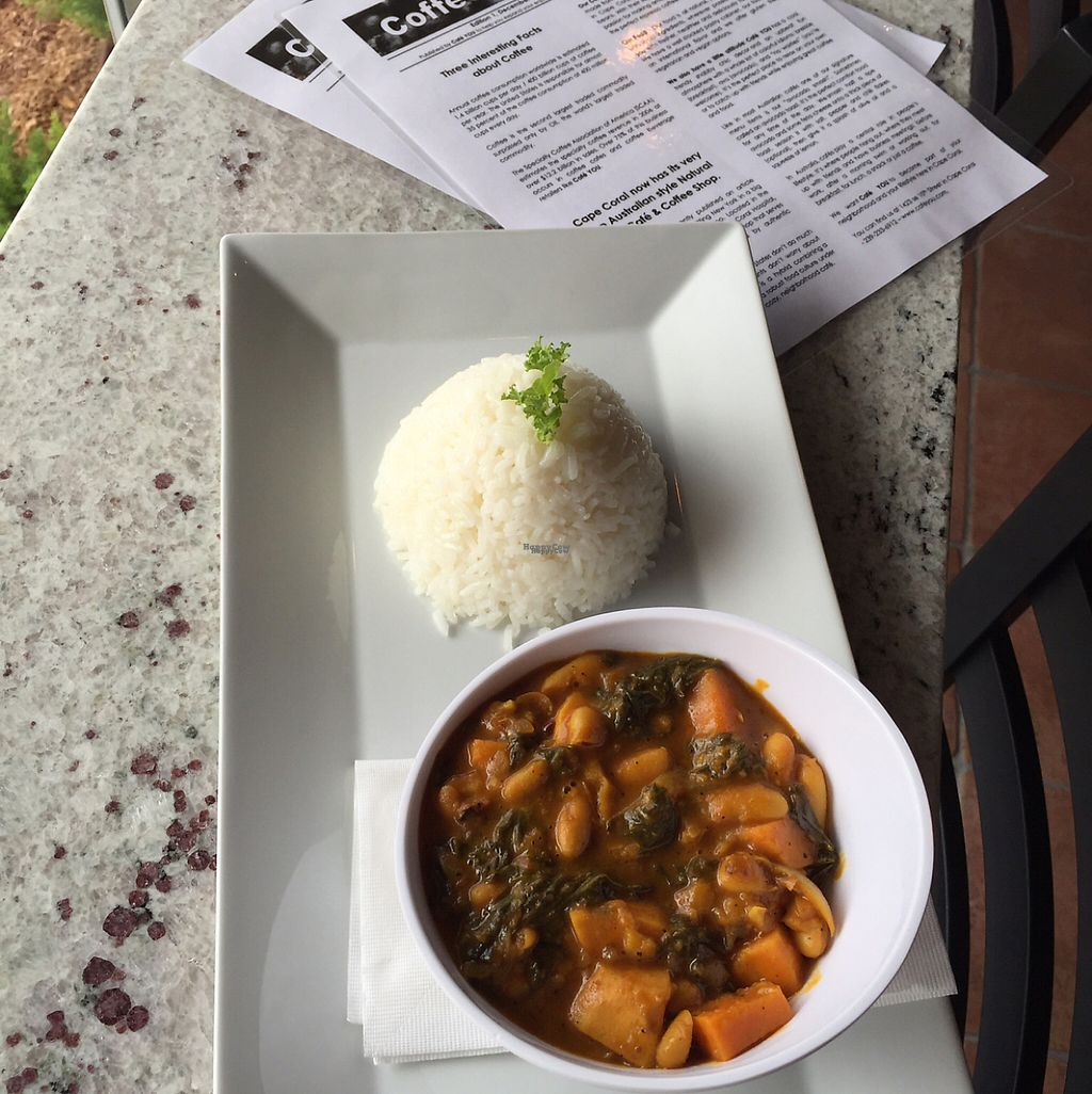 """Photo of Cafe YOU  by <a href=""""/members/profile/Uriami"""">Uriami</a> <br/>Kale & Whit Bean Korma <br/> February 24, 2017  - <a href='/contact/abuse/image/79521/229937'>Report</a>"""