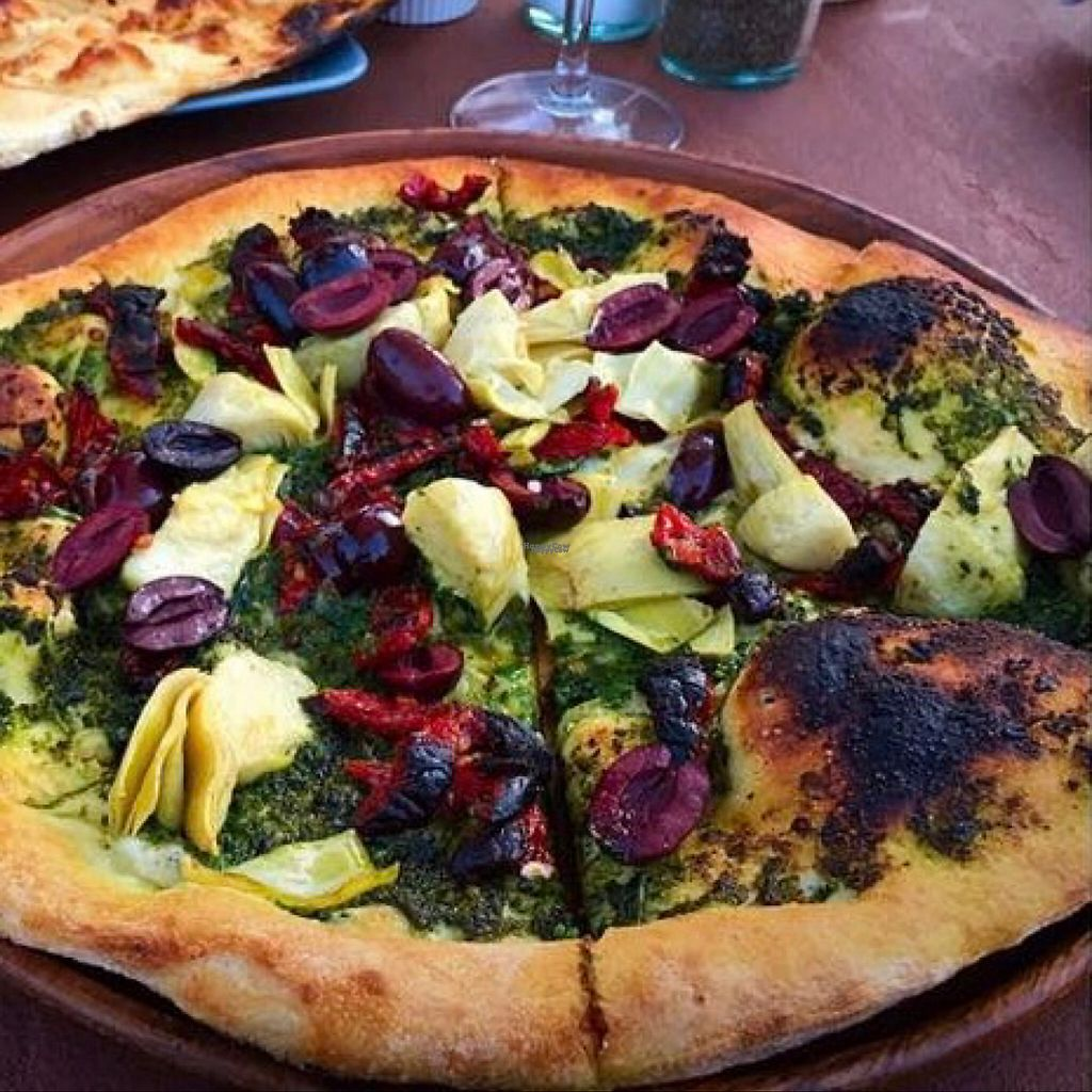 "Photo of Peekaboo Canyon Wood Fired Kitchen  by <a href=""/members/profile/AmyOlson"">AmyOlson</a> <br/>Best wood fired vegan pizza! <br/> November 13, 2016  - <a href='/contact/abuse/image/79524/189120'>Report</a>"