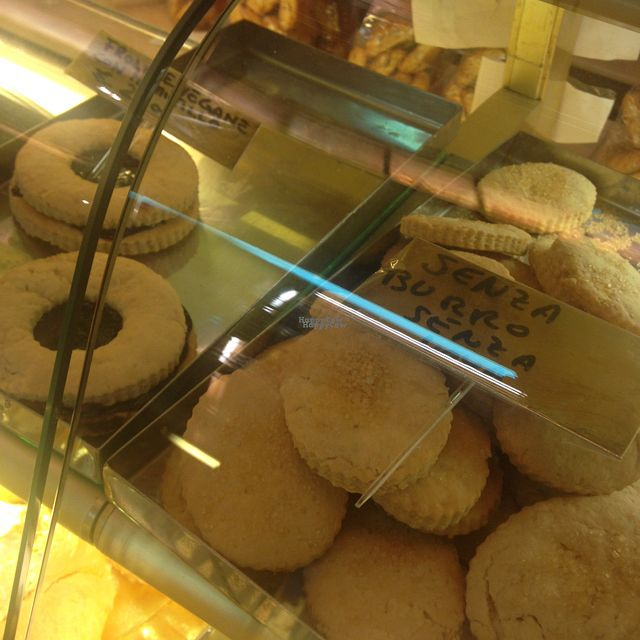 """Photo of Pasticceria Ponte delle Paste  by <a href=""""/members/profile/f.r.a"""">f.r.a</a> <br/>vegan cookies and pastries  <br/> September 10, 2016  - <a href='/contact/abuse/image/79528/174801'>Report</a>"""