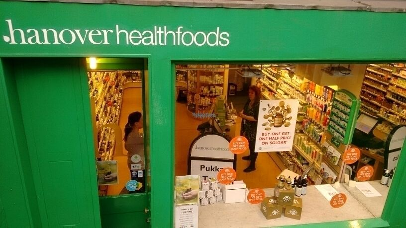 """Photo of Hanover Healthfoods  by <a href=""""/members/profile/craigmc"""">craigmc</a> <br/>exterior <br/> September 18, 2016  - <a href='/contact/abuse/image/79529/176487'>Report</a>"""