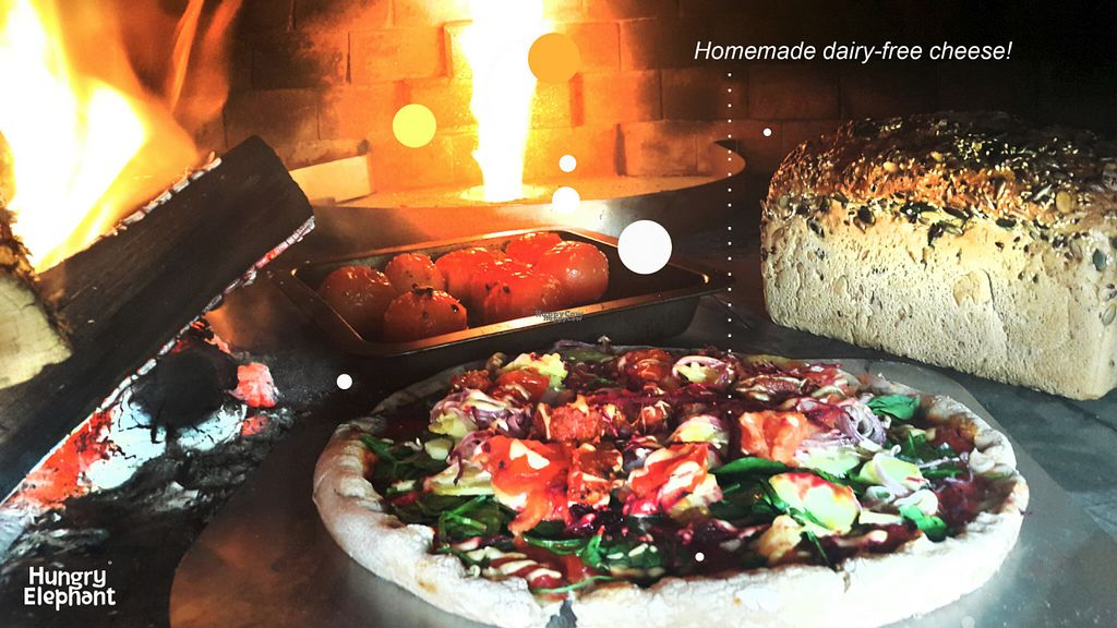 """Photo of Hungry Elephant  by <a href=""""/members/profile/hungryelephantmataka"""">hungryelephantmataka</a> <br/>Pizza experience! <br/> September 18, 2016  - <a href='/contact/abuse/image/79543/176440'>Report</a>"""