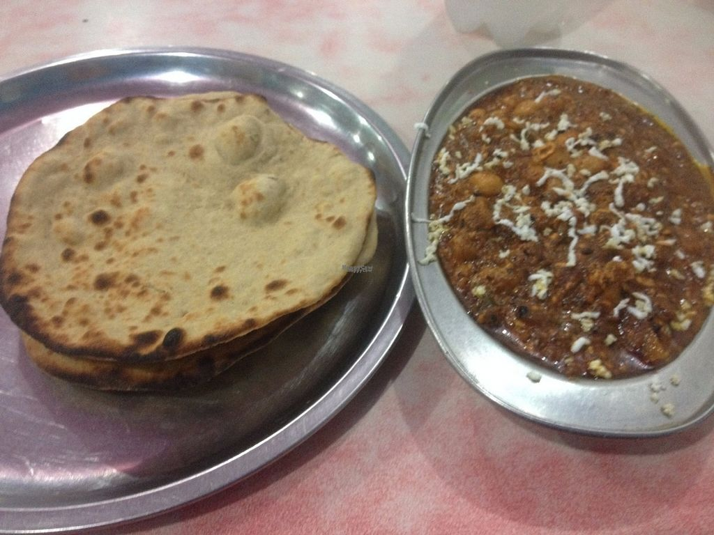 "Photo of Ashok Pure Vegetarian Restaurant  by <a href=""/members/profile/vegan_ryan"">vegan_ryan</a> <br/>Chana masala + tandoor roti <br/> September 6, 2016  - <a href='/contact/abuse/image/79562/173937'>Report</a>"