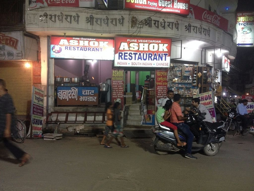 "Photo of Ashok Pure Vegetarian Restaurant  by <a href=""/members/profile/vegan_ryan"">vegan_ryan</a> <br/>View from the street <br/> September 6, 2016  - <a href='/contact/abuse/image/79562/173939'>Report</a>"