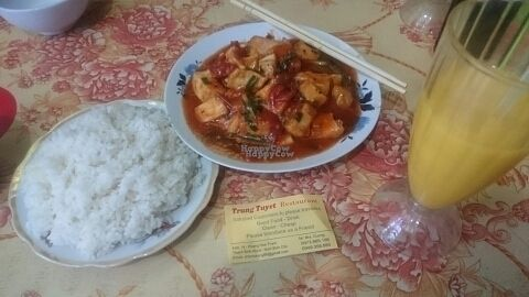 """Photo of Trung Tuyet  by <a href=""""/members/profile/julesair"""">julesair</a> <br/>one possible vegetarian dish at Trung Tuyet <br/> September 3, 2016  - <a href='/contact/abuse/image/79563/173156'>Report</a>"""