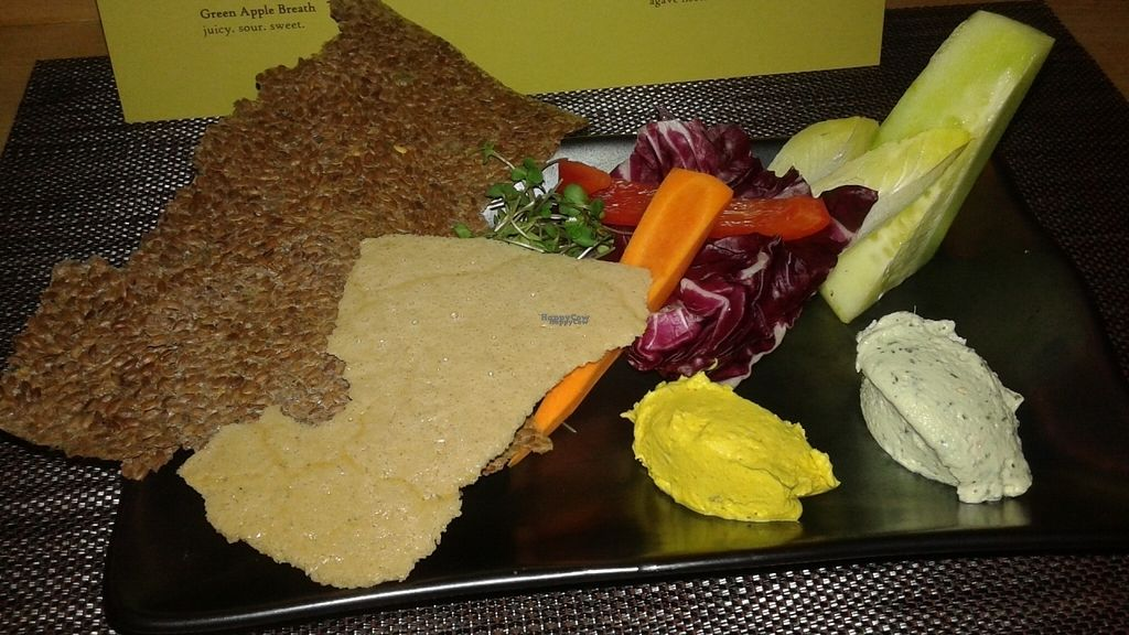 """Photo of REMOVED: Vinya Test Kitchen  by <a href=""""/members/profile/veganri"""">veganri</a> <br/>Raw Vegan Cheese Plate <br/> September 2, 2016  - <a href='/contact/abuse/image/79565/173102'>Report</a>"""