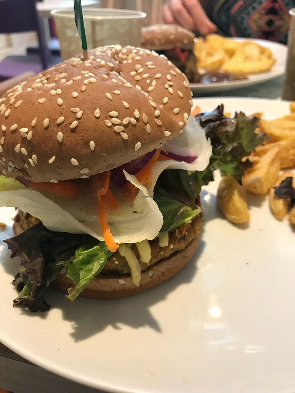 """Photo of Hareburger - Botafogo  by <a href=""""/members/profile/dazedkiwi"""">dazedkiwi</a> <br/>Quinoa burger <br/> October 19, 2017  - <a href='/contact/abuse/image/79582/316611'>Report</a>"""