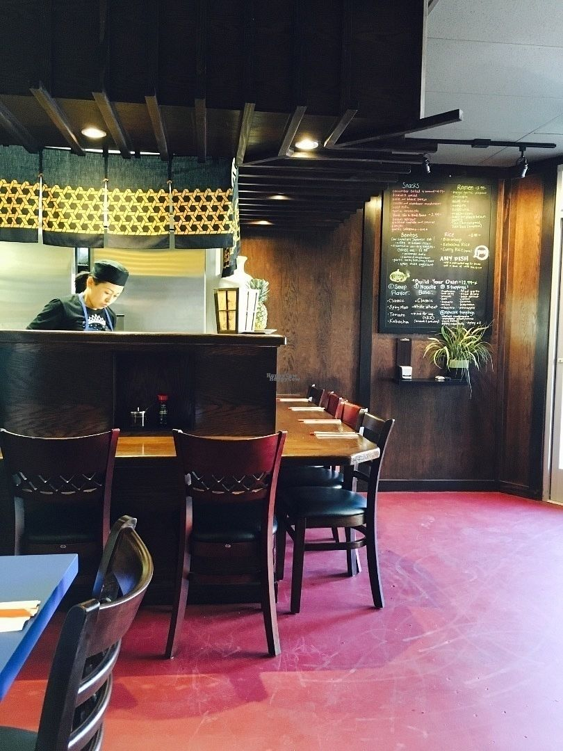 """Photo of Gokoku Vegetarian Ramen Shop  by <a href=""""/members/profile/JessicaXiaoXing"""">JessicaXiaoXing</a> <br/>Ramen Bar  <br/> September 16, 2016  - <a href='/contact/abuse/image/79605/176141'>Report</a>"""