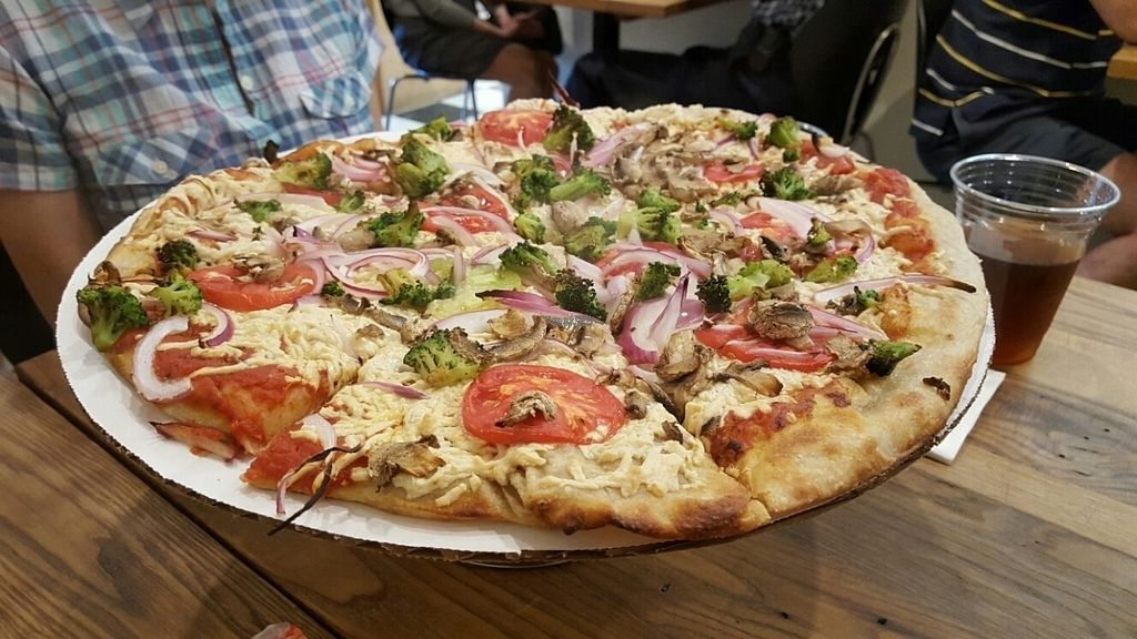 """Photo of Berkshire Mountain Bakery  by <a href=""""/members/profile/mohare22"""">mohare22</a> <br/>vegan pizza! <br/> October 30, 2016  - <a href='/contact/abuse/image/79622/185406'>Report</a>"""