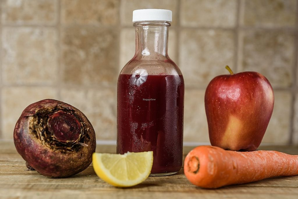 """Photo of Juice Thyme Plus  by <a href=""""/members/profile/SharonJackAntoine"""">SharonJackAntoine</a> <br/>Beet-a-Full Juice <br/> June 19, 2017  - <a href='/contact/abuse/image/79647/271127'>Report</a>"""