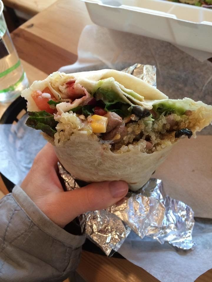 """Photo of Flavorful  by <a href=""""/members/profile/J%20and%20J"""">J and J</a> <br/>vegan burrito  <br/> September 5, 2016  - <a href='/contact/abuse/image/79665/173790'>Report</a>"""