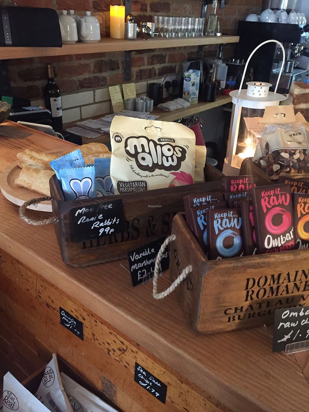 """Photo of Crazy Bean Cafe  by <a href=""""/members/profile/bakeydoesntbake"""">bakeydoesntbake</a> <br/>Snacks at the till <br/> April 1, 2018  - <a href='/contact/abuse/image/79668/379578'>Report</a>"""
