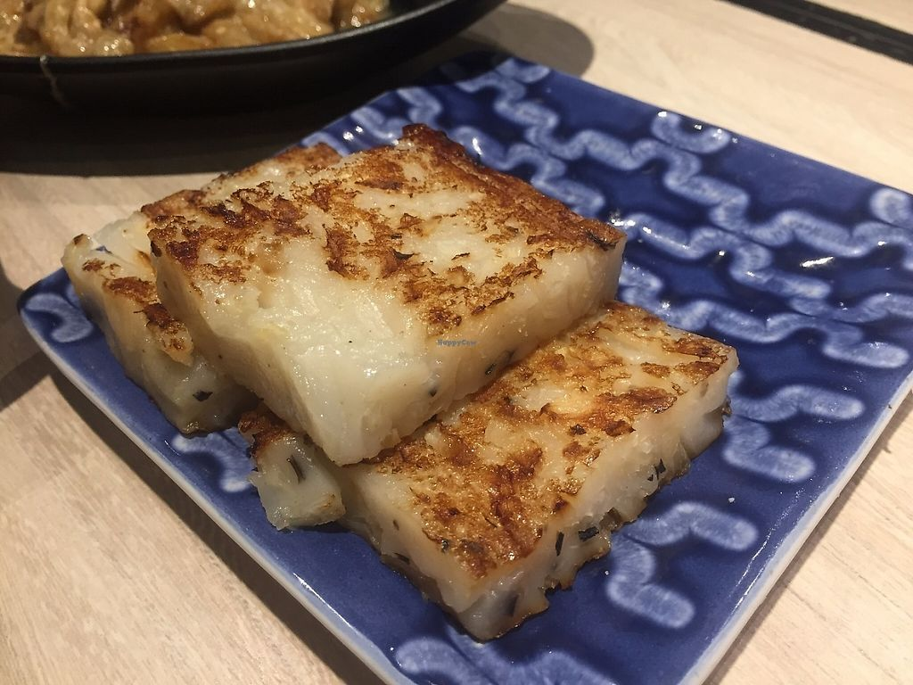 """Photo of The Veggie  by <a href=""""/members/profile/SamanthaIngridHo"""">SamanthaIngridHo</a> <br/>Fried Turnip Cake <br/> May 3, 2017  - <a href='/contact/abuse/image/79669/255204'>Report</a>"""