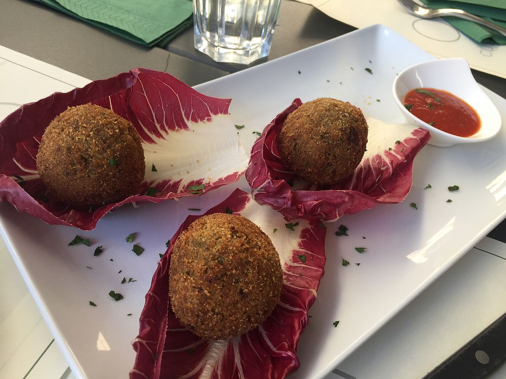 """Photo of Origano   by <a href=""""/members/profile/AbbyKuo"""">AbbyKuo</a> <br/>fried eggplant balls <br/> July 16, 2017  - <a href='/contact/abuse/image/79677/281000'>Report</a>"""