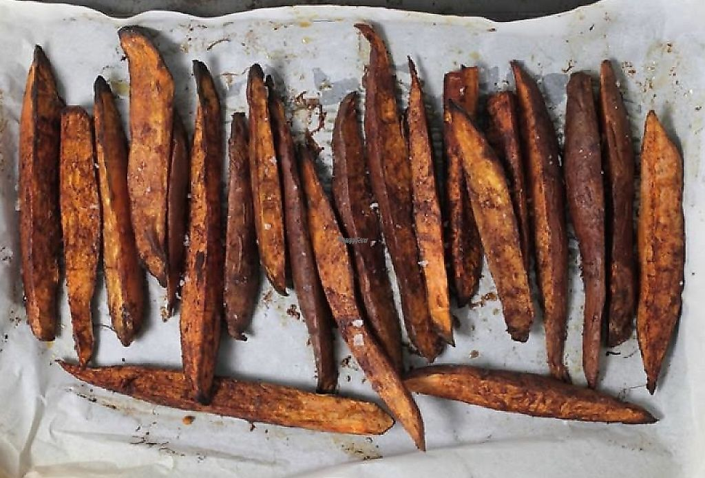 """Photo of The Produce Bulk Foods  by <a href=""""/members/profile/community"""">community</a> <br/>cinnamon roasted sweet potato chips <br/> April 1, 2017  - <a href='/contact/abuse/image/79678/252326'>Report</a>"""